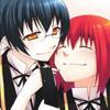 Sora and Tsuki by WolfDragonGod