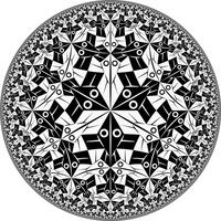 Circle Limit I by Vladimir-Bulatov