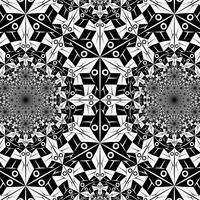 Circle Limit I with a cusp by Vladimir-Bulatov