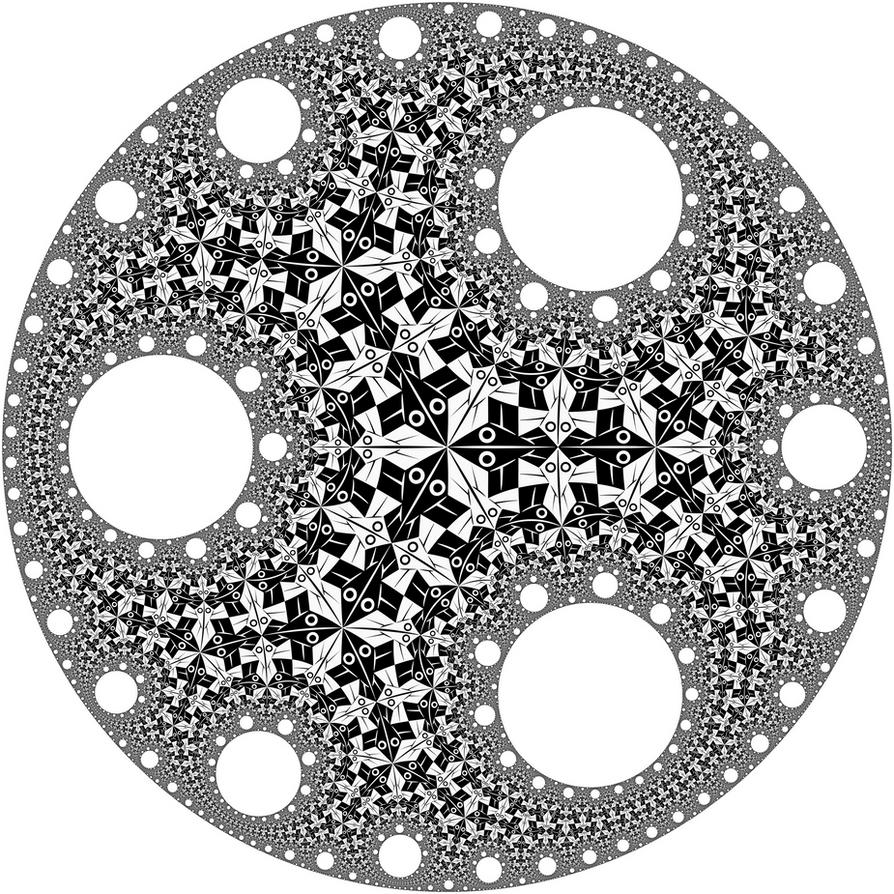 Fractal Circle Circle limit i with circular