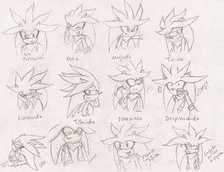 Silver 12 Expressions by ine-rocks