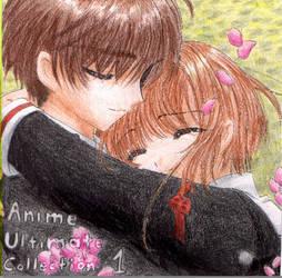 CD cover Sakura and Syaoran