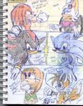 Rock paper scissors by Sonic