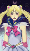Sailor Moon SuperS Usagi by illuminantur