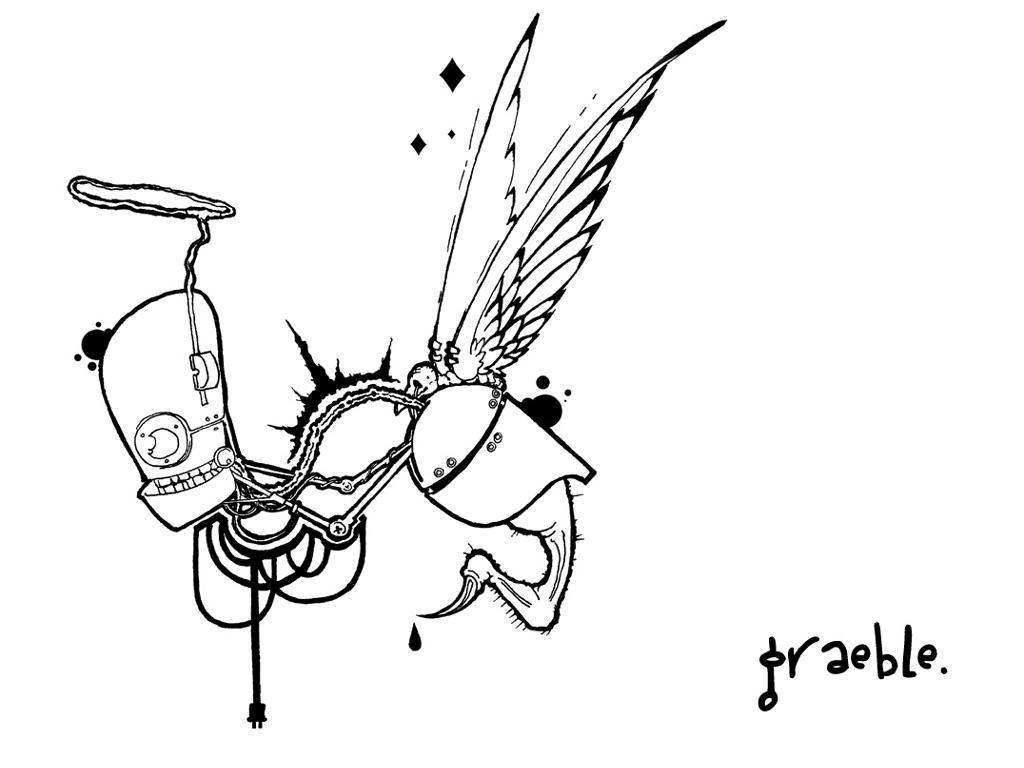 scrapflash angel by graeble