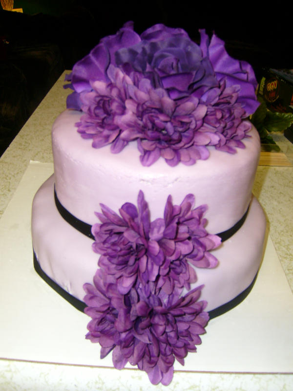 Flower Cakes For Baby Shower