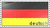 deutsch stamp by rh2nh0