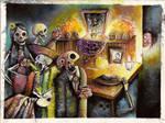 dia de muertos by EdgarTorre