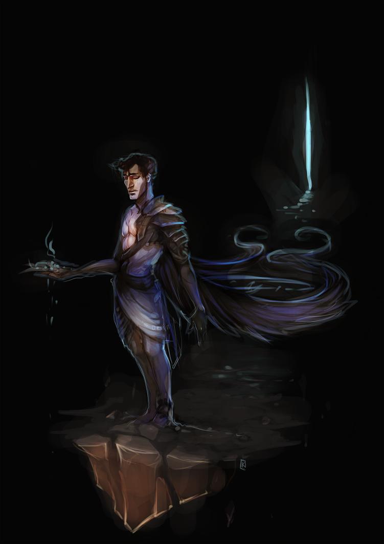 Thanatos by Spirited-Violet