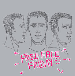 Free Face Friday! by Spirited-Violet