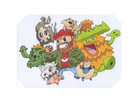 my pokemon by Space-khD