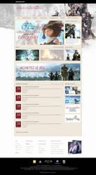 Final Fantasy XIV Website ReDesign