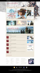 Final Fantasy XIV Website ReDesign by Illusiv-Fr