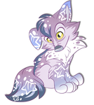 Pastel starry cub [AUCTION] paypal/points [CLOSED] by BlackFreya