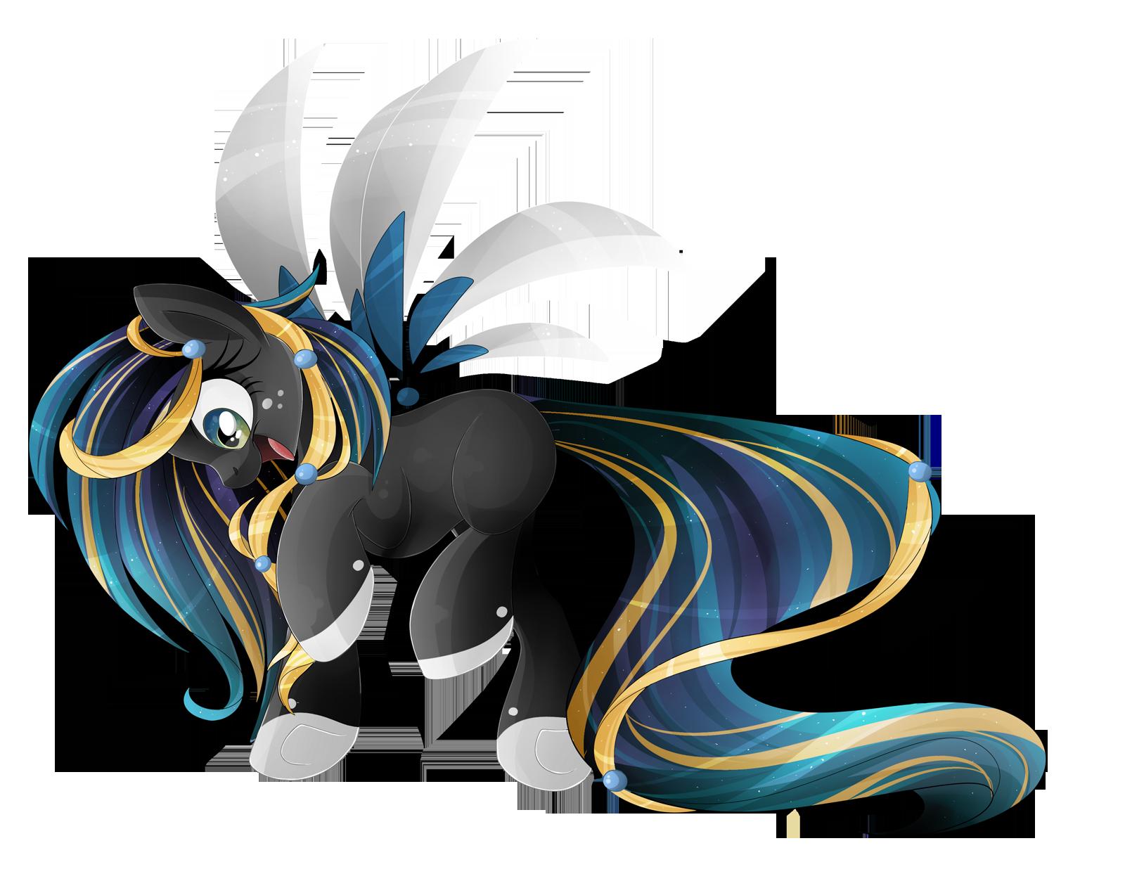 Night Wallpaper No Logo By Ualgreymon On Deviantart: Night Pony By BlackFreya On DeviantArt