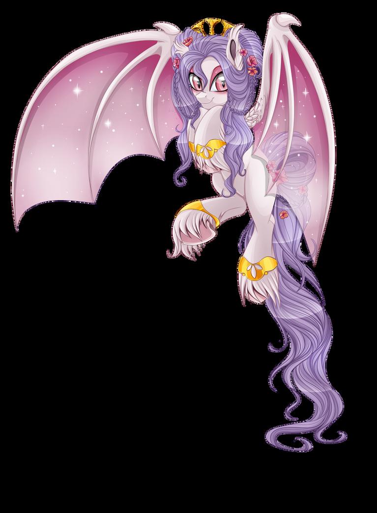 Alba - the bat pony by BlackFreya