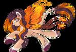 Fire fairy pony [CLOSED]