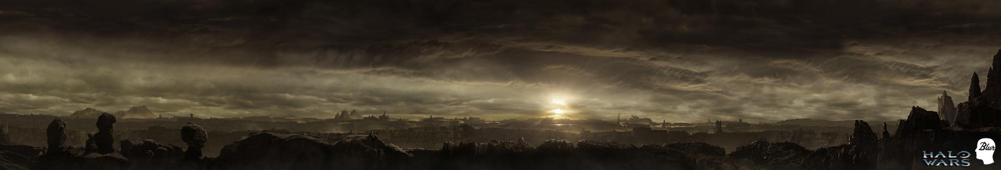Halo wars big panorama by JJasso