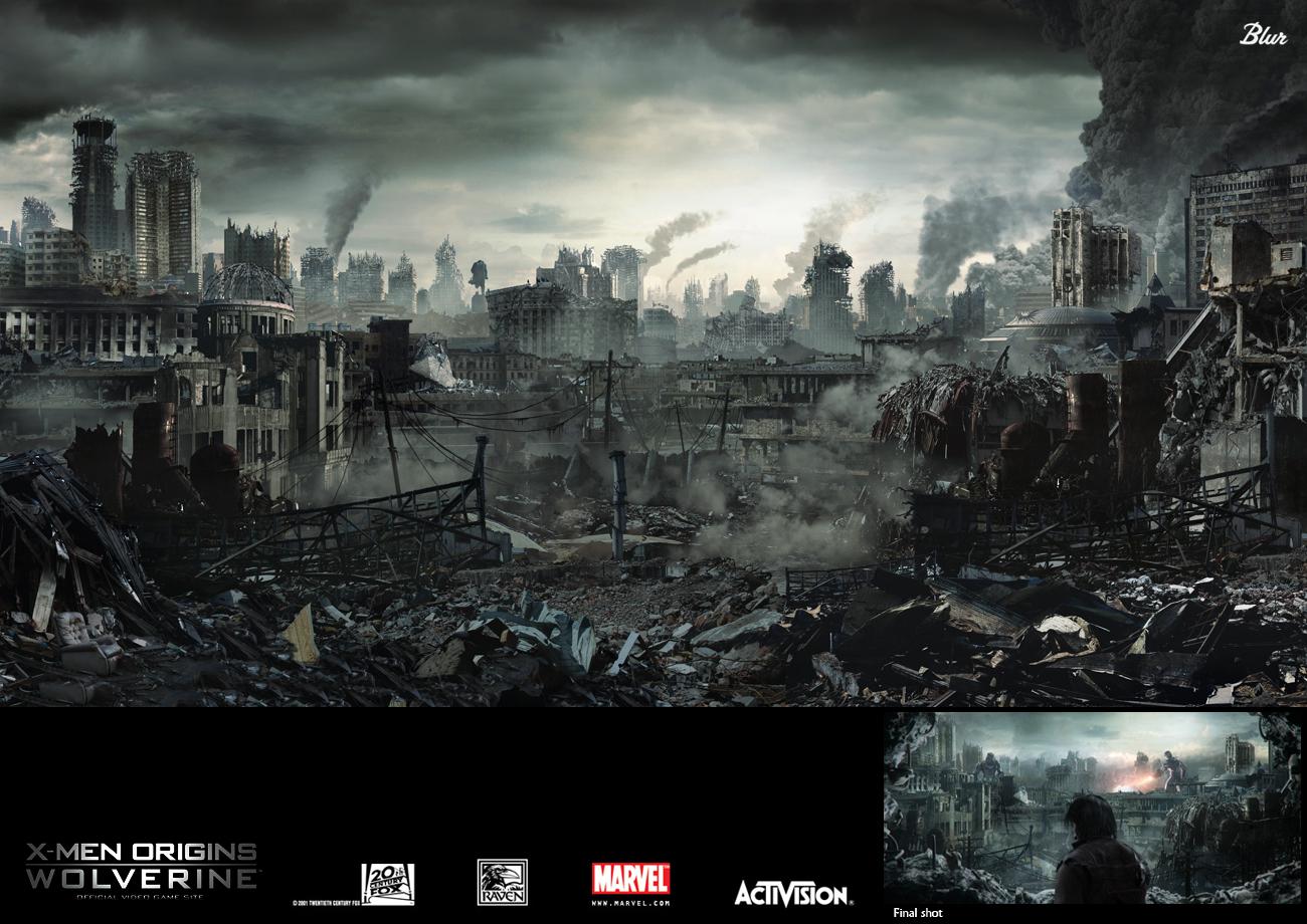 Wolverine :: apocalypse city
