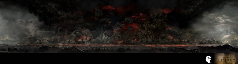 Dantes Inferno cyclorama by JJasso