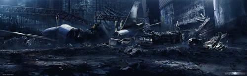 Vegas Ruins by JJasso