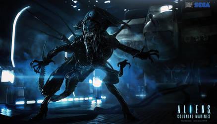 Aliens : Alien Queen by JJasso