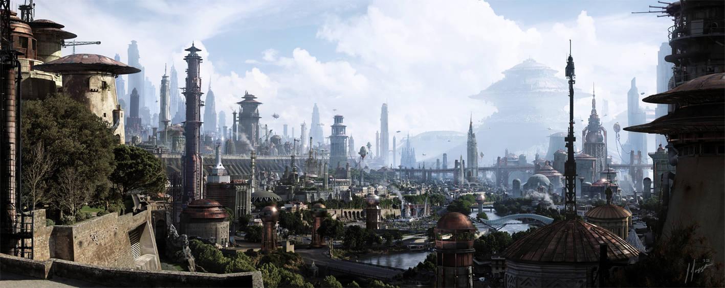 Coppernia city by JJasso