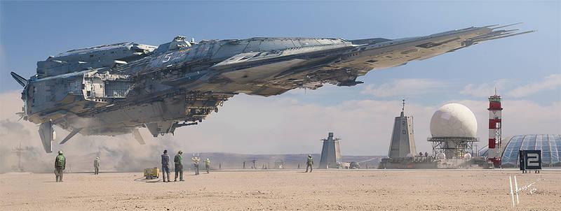 Destroyer Landing
