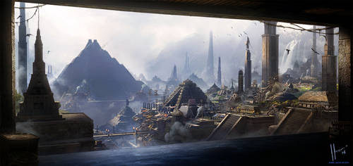 Huey Altepetl ( Empire Capital ) by JJasso
