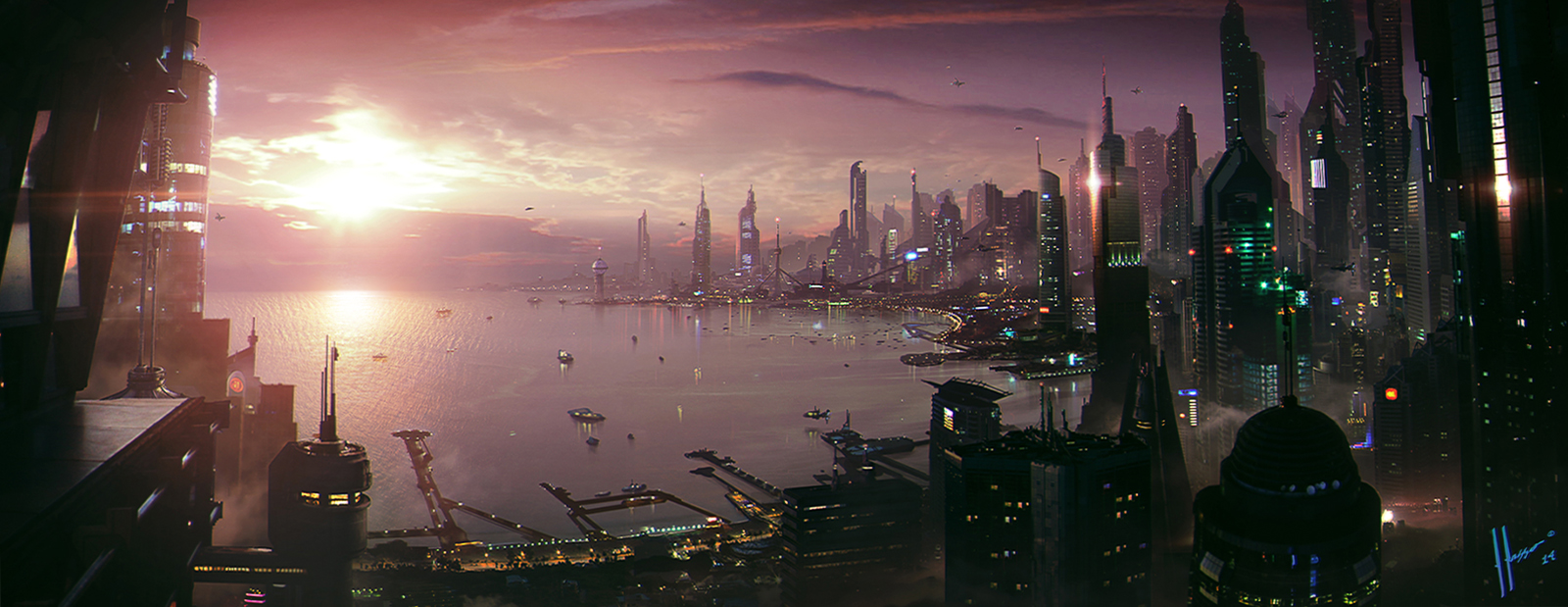 City by the Bay by JJasso