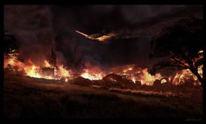 Incendio en el Pueblo