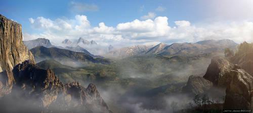 Mist Valley by JJasso
