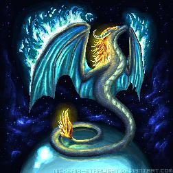 Flying Fire Serpent by Nickeria-Starlight