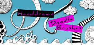 Handdrawn Doodle Brushes by arsgrafik