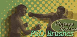 Vintage Boxer Brushes by arsgrafik