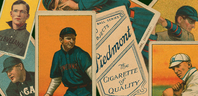 Vintage Baseball Card Brushes by arsgrafik