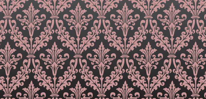 Damask Photoshop Pattern by arsgrafik