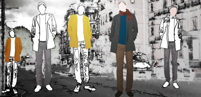 Vector Art: Men's Fashion by arsgrafik