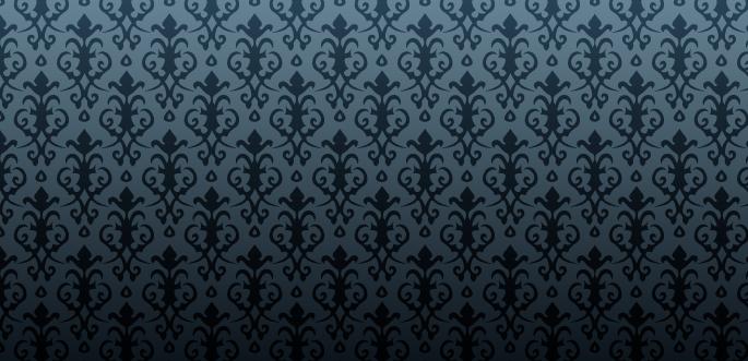 Victorian Damask Pattern by arsgrafik