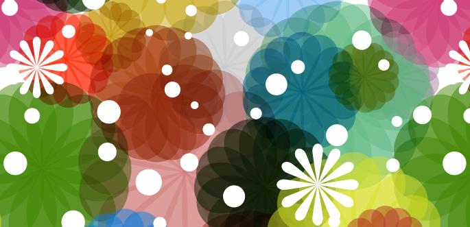 Flower Power PS Patterns by arsgrafik