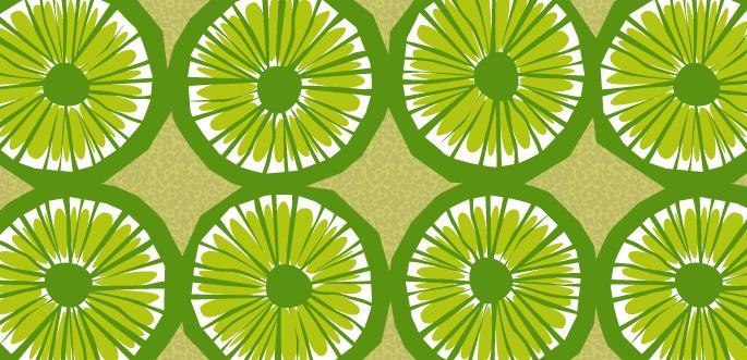 Limes Pattern by arsgrafik