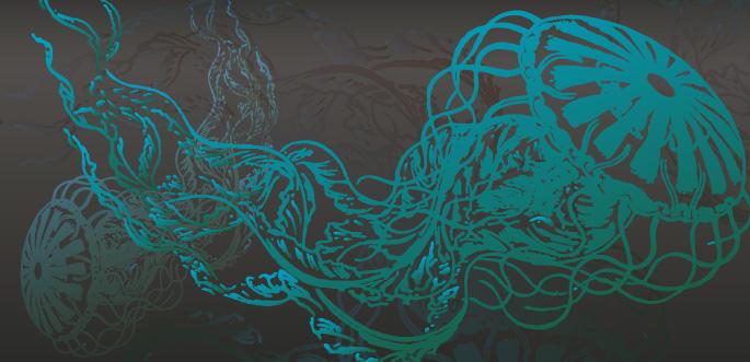 Jellyfish Vector by arsgrafik