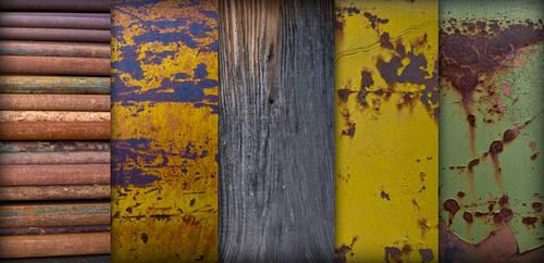 Rust-Grunge Texture Pack