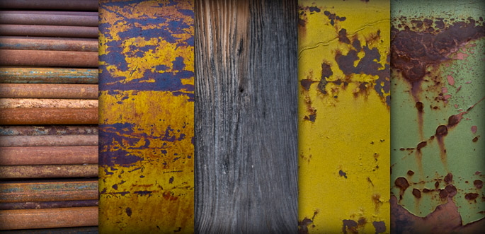 Rust-Grunge Texture Pack by arsgrafik