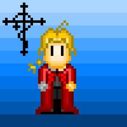 FMA: Pixel Edward Elric
