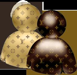 Louis Vuitton WLM icon for Mac by Somonette