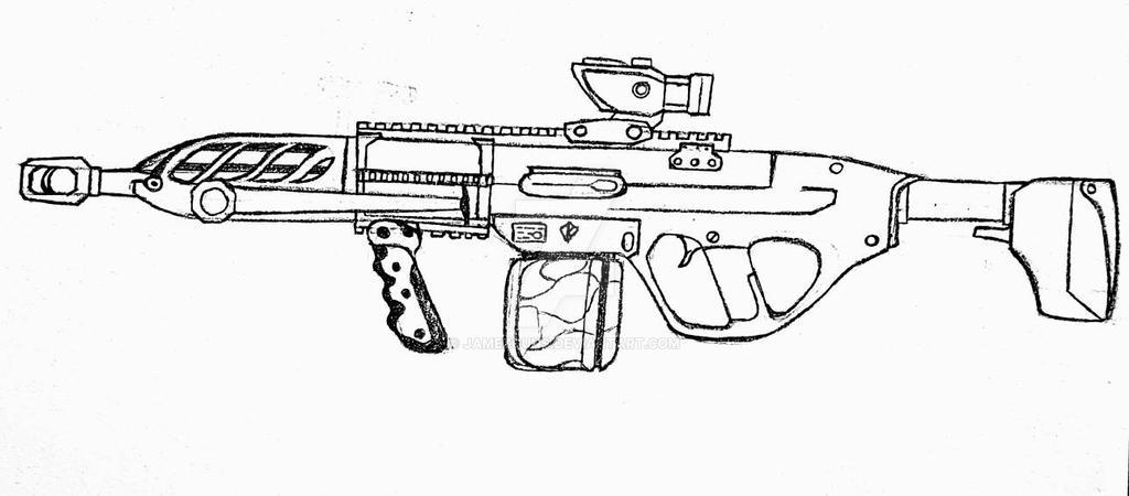 SG-2 LMG by jamezguns