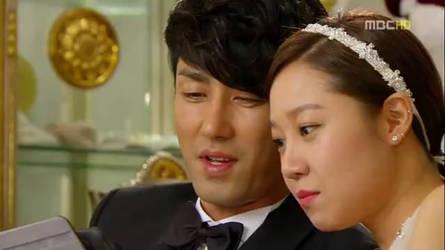 Gong Hyo-Jin as a Bride by LoonyLizard