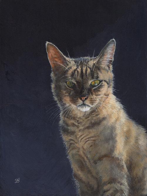 Pet portrait - Schnuffel by elektroyu