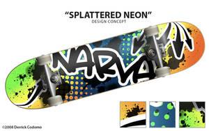 Splattered Neon by Murakumon